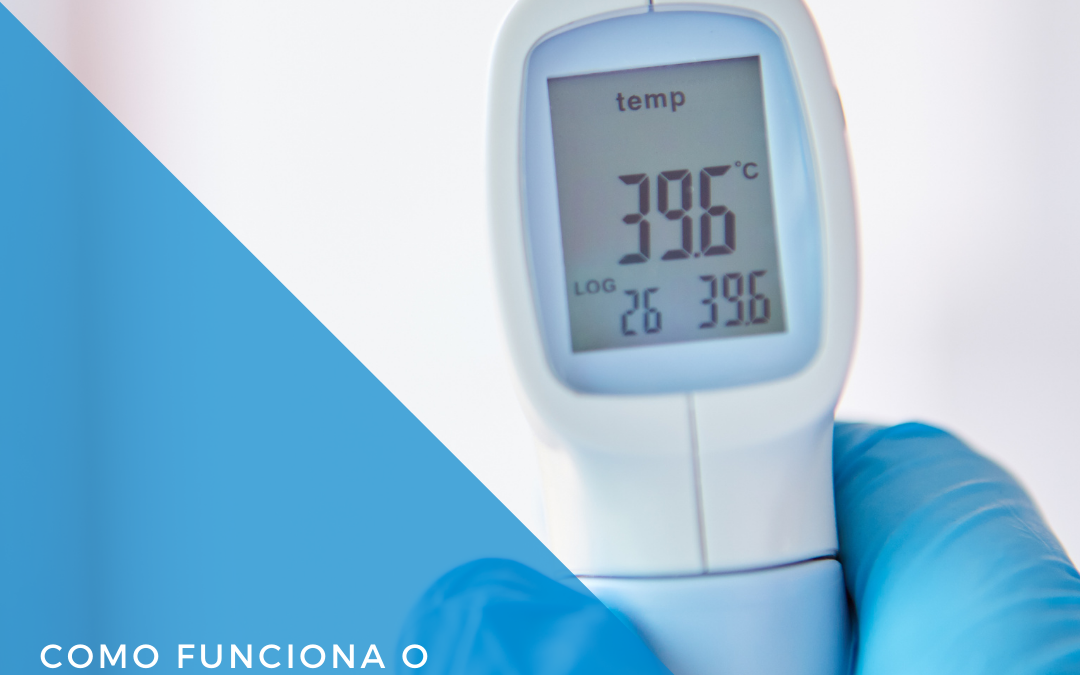 Como funciona o termómetro infravermelho?
